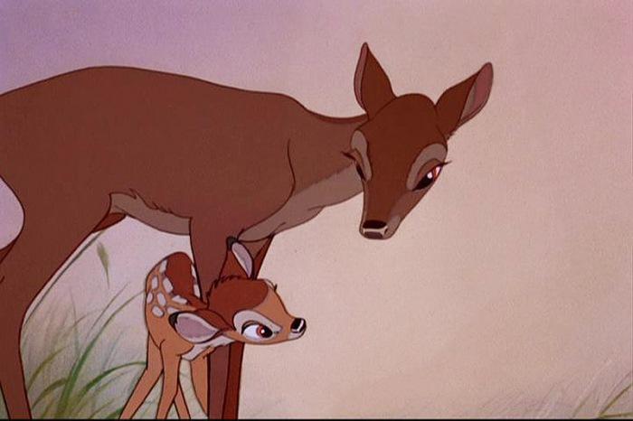 bambi-and-mom-1942