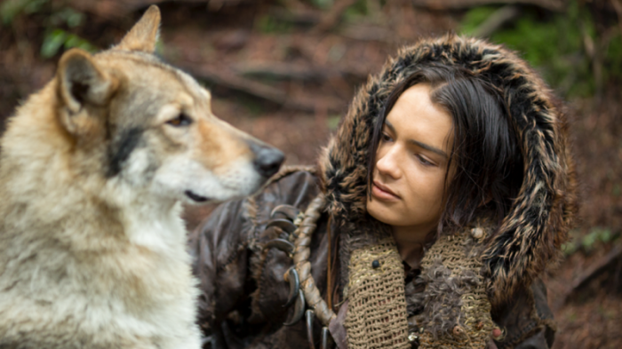 "58242bb9a ... ""Alpha"" tells the story of a young man (Kodi Smit-McPhee) on his first  hunt who's separated from his clansmen — and finds an unlikely friend in a  wolf ..."